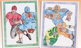 Color-In Sports Posters Craft Project