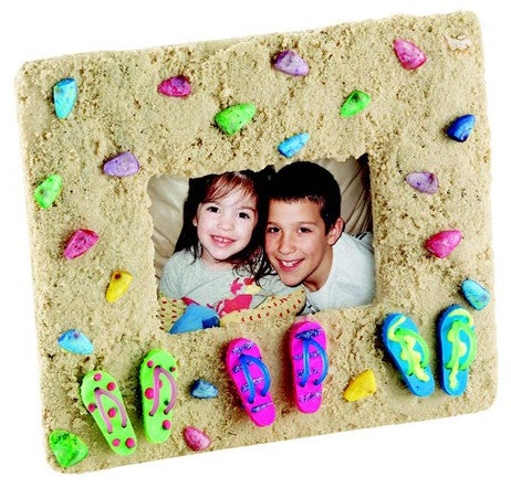 Sandals And Seashells Photo Frame Craft Kit