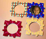 DIY Puzzled Frames Craft