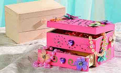 DIY Wooden Jewelry Box Craft