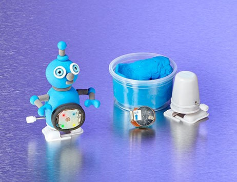 Super Dough Wind-Up Robot Set