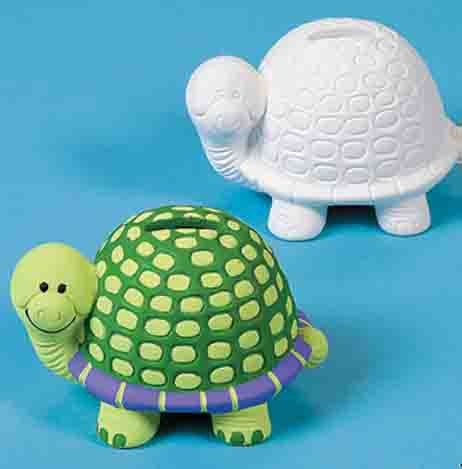 Ceramic Turtle Banks