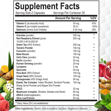 Daily Natural Immunity Boost Ingredients