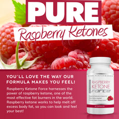 Raspberry Ketone Force - Natural Raspberry Ketone Formula