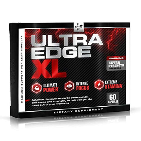 Ultra Edge XL - Nitric Oxide Booster w/ BCAA's