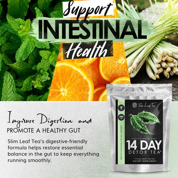 Slim Leaf Tea - 14-Day Gentle Detox