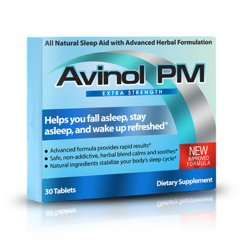 Avinol PM - Extra Strength Sleep Aid