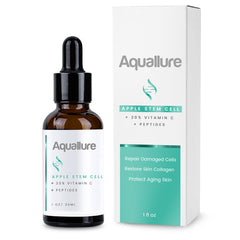 Aquallure Apple Stem Cell Serum with Peptides & Vitamin C