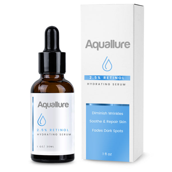 Aquallure Retinol 2.5% Hydrating Serum