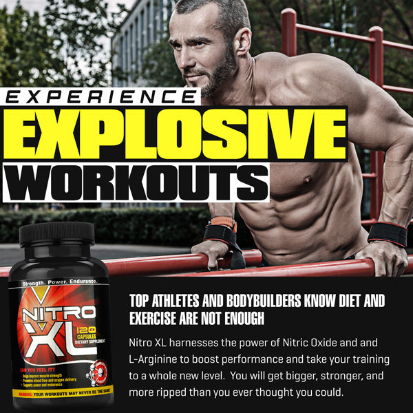 Nitro XL - Nitric Oxide Muscle Builder