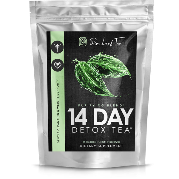 Slim Leaf Tea - 14-Day Antioxidant Detox Tea