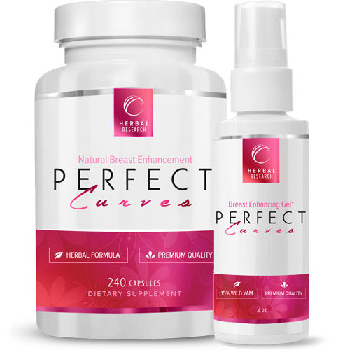 Perfect Curves - Natural Breast Enhancement System