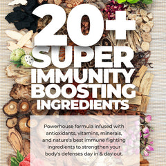Daily Natural Immunity Boost - with FREE KN95 Mask!