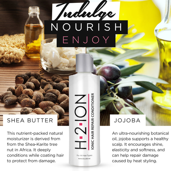 H2 Ion - Thermal Activated Ionic Hair Repair Conditioner