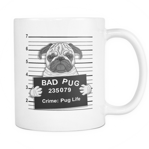 Bad Pug Coffee Mug