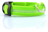 Nylon LED Glowing Dog Safety Collar