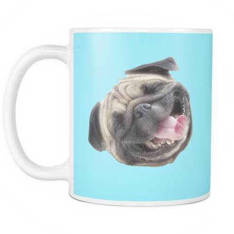"Amazing ""Silly Pug"" Mug"