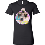"Women's ""Golden Girls"" Pug T-Shirt"