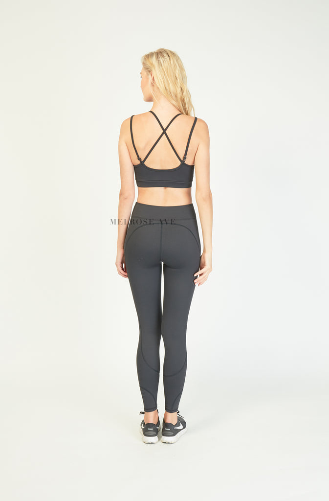 ReActive Wear | Black Crop Top