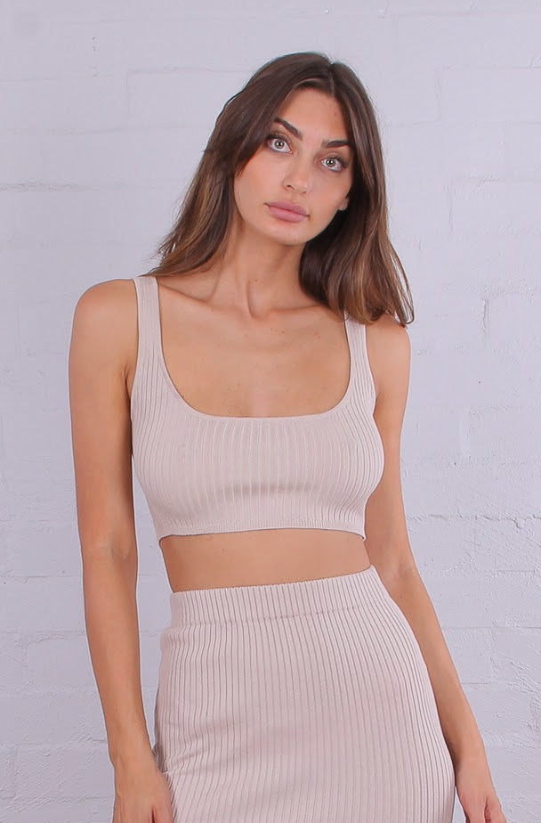Cassie Crop Top