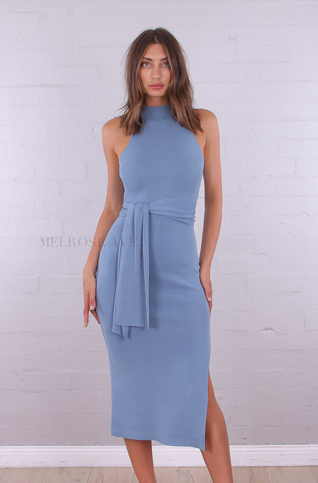 Karen Midi Dress | Blue