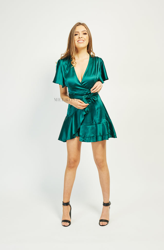 Clarissa Mini Dress | Jade