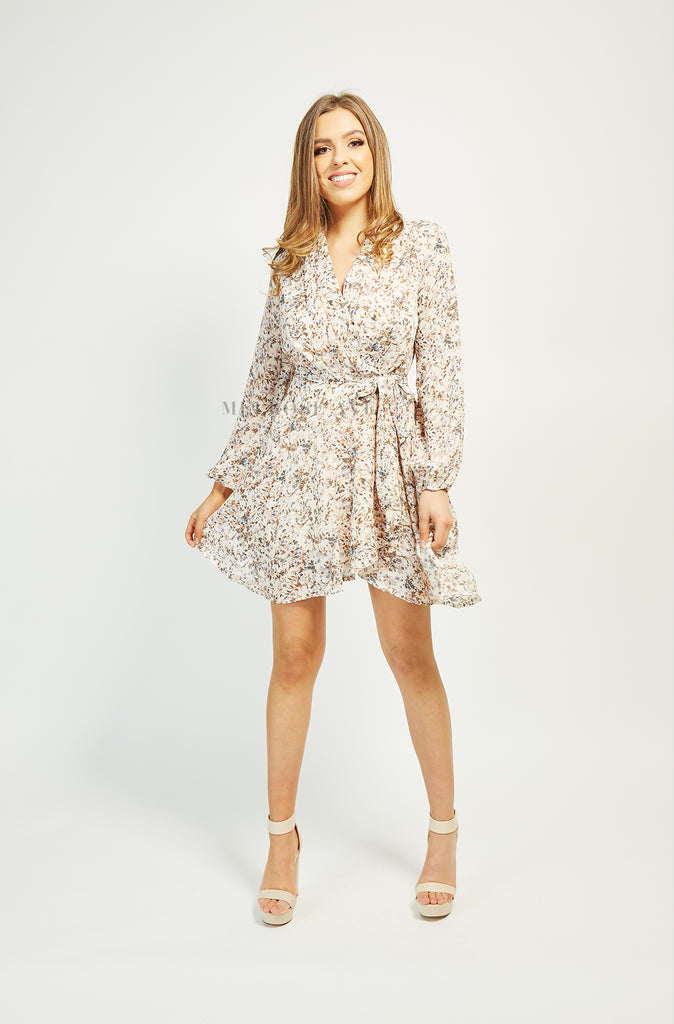 Flower Fields Wrap Dress | Floral