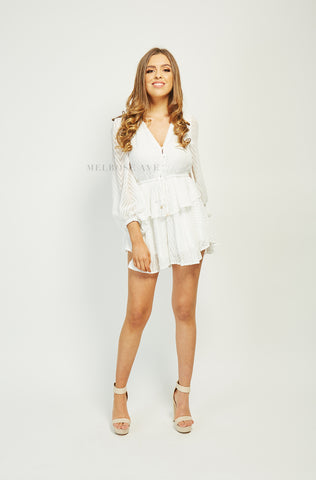 Marcia Playsuit | Polka Dot
