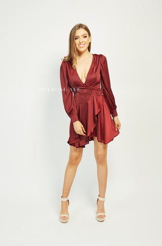 Clarissa Wrap Dress