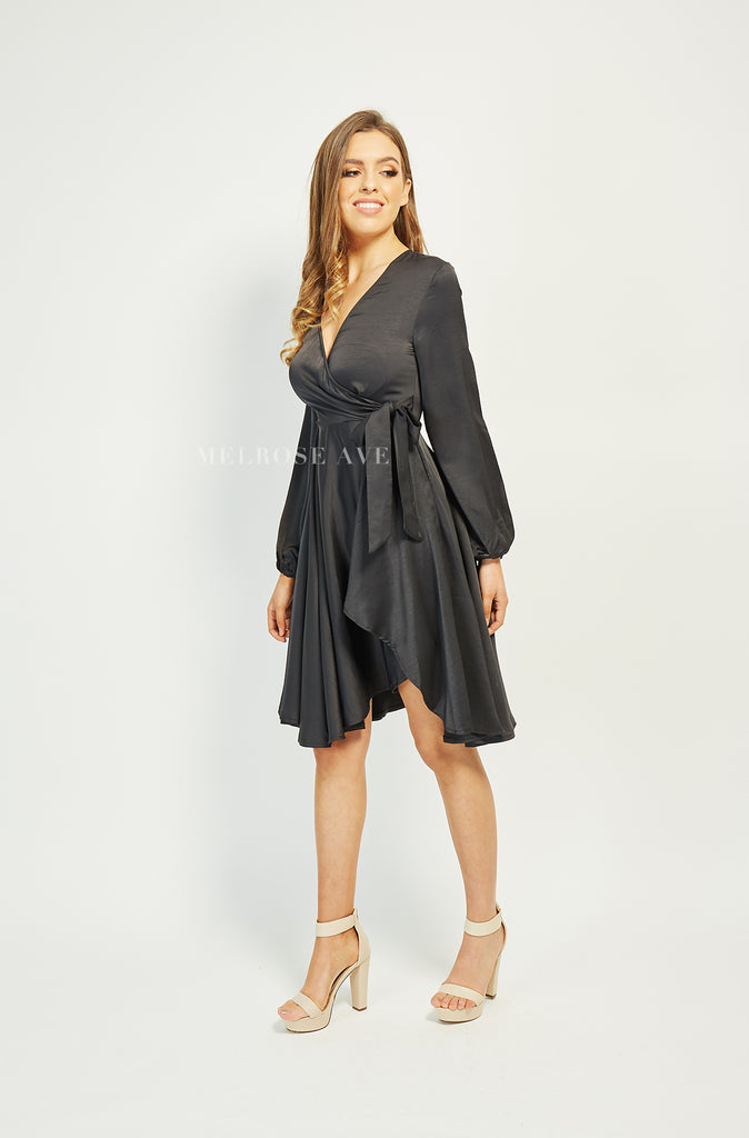 Into The Night Wrap Dress