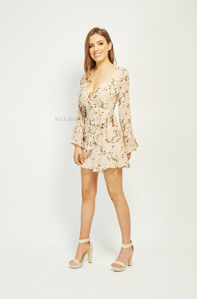 Adelina Wrap Dress