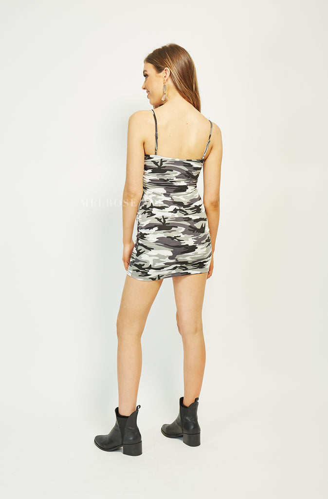 Jordyn Mini Dress | Camo