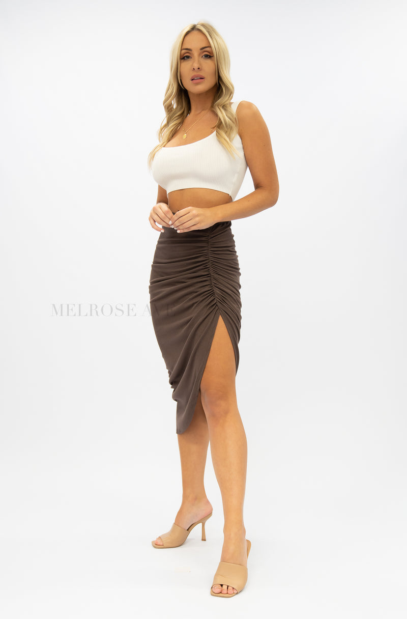 In The Mood Midi Skirt
