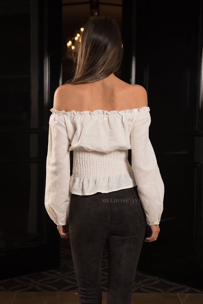Carey Corset Top