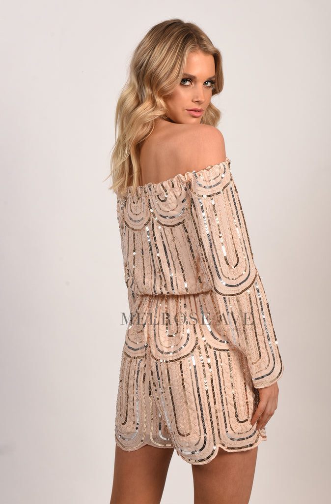 Forever Sparkle Playsuit
