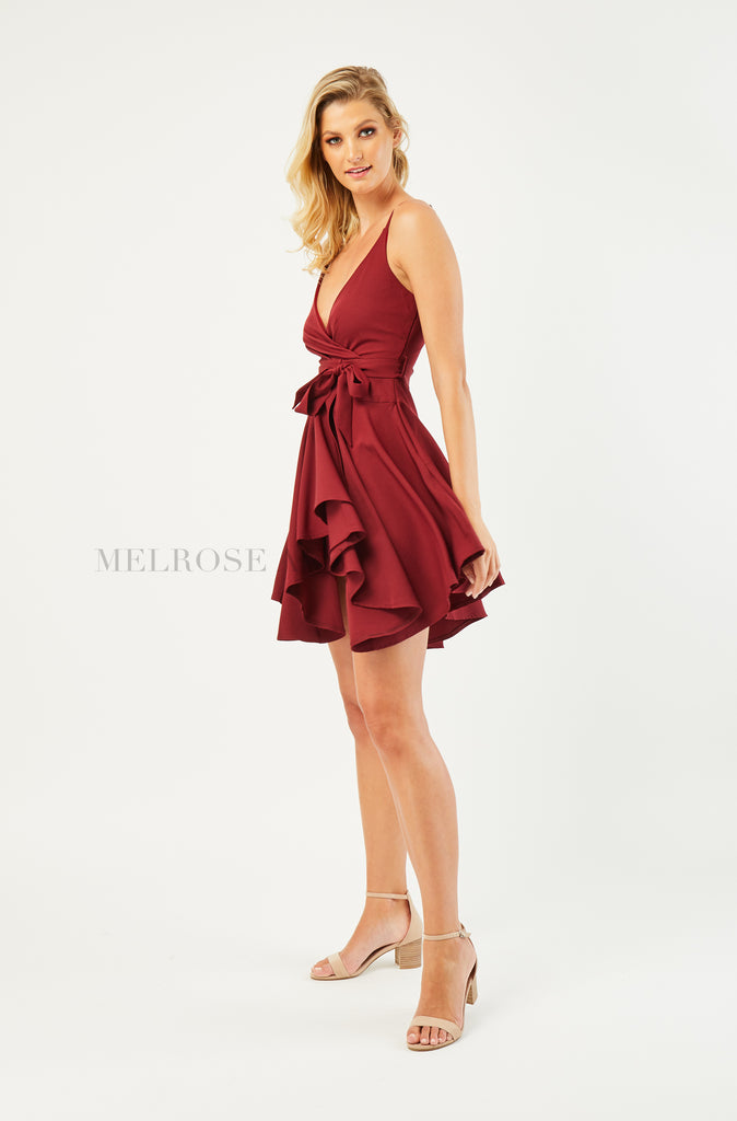 Seduce Mini Dress | Plum
