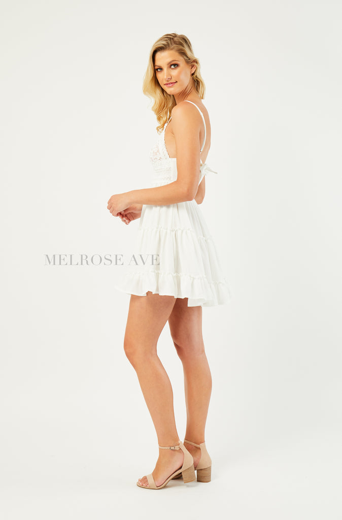 Kristina Mini Dress | White