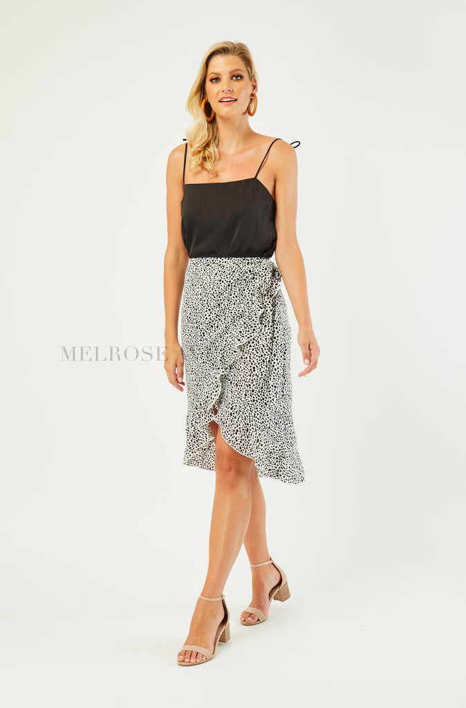 Wrap It Up Midi Skirt | Polka Dots
