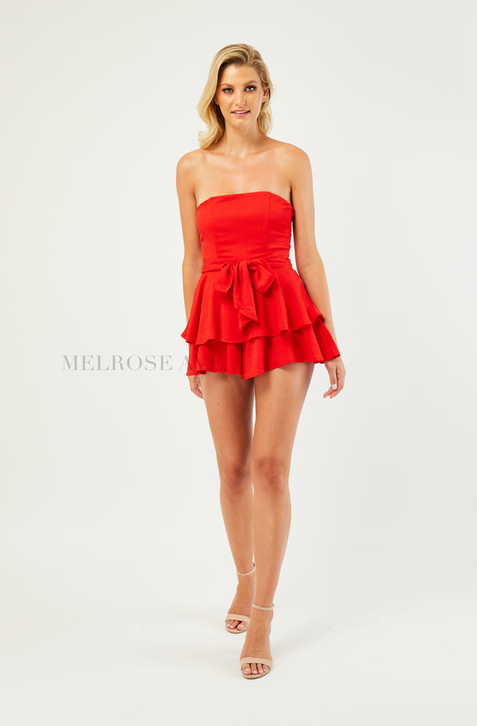 Teagan Playsuit | Red