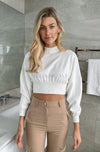 Lana Knit Crop Top