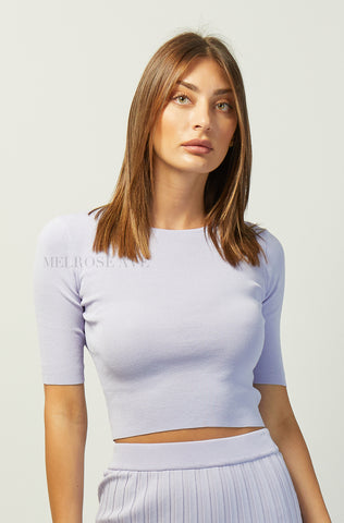 Lena Crop Top | Leaves