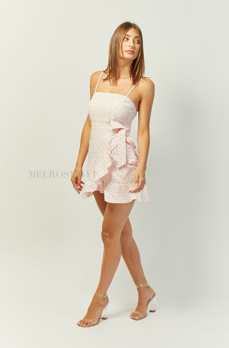 Calia Mini Dress | Pink | Floral