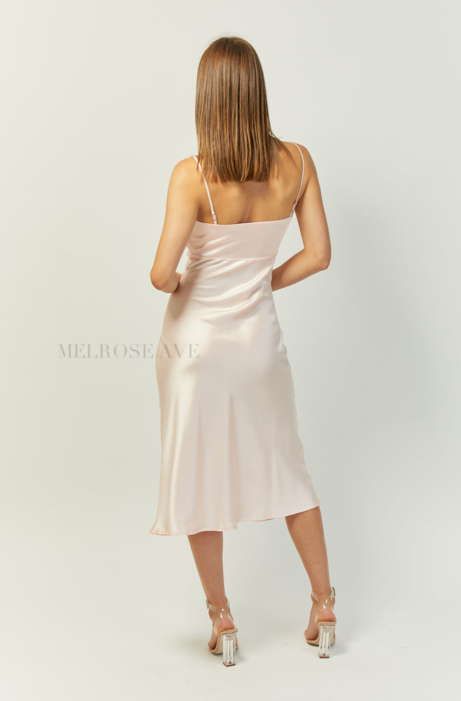 Chrissy Slip Midi Dress