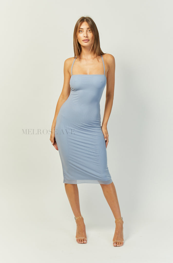 Margot Midi Dress | Blue