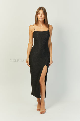 Milani Midi Dress | Champagne