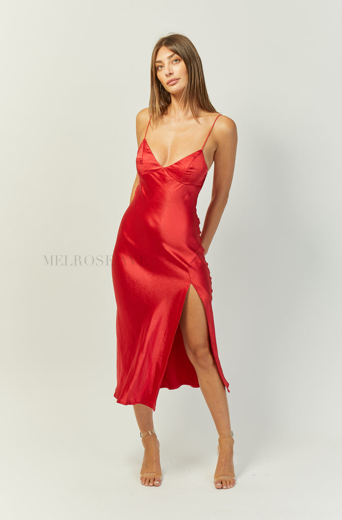 Mercy Midi Slip Dress