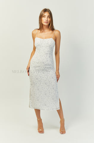 Khaleesi Maxi Dress | Champagne