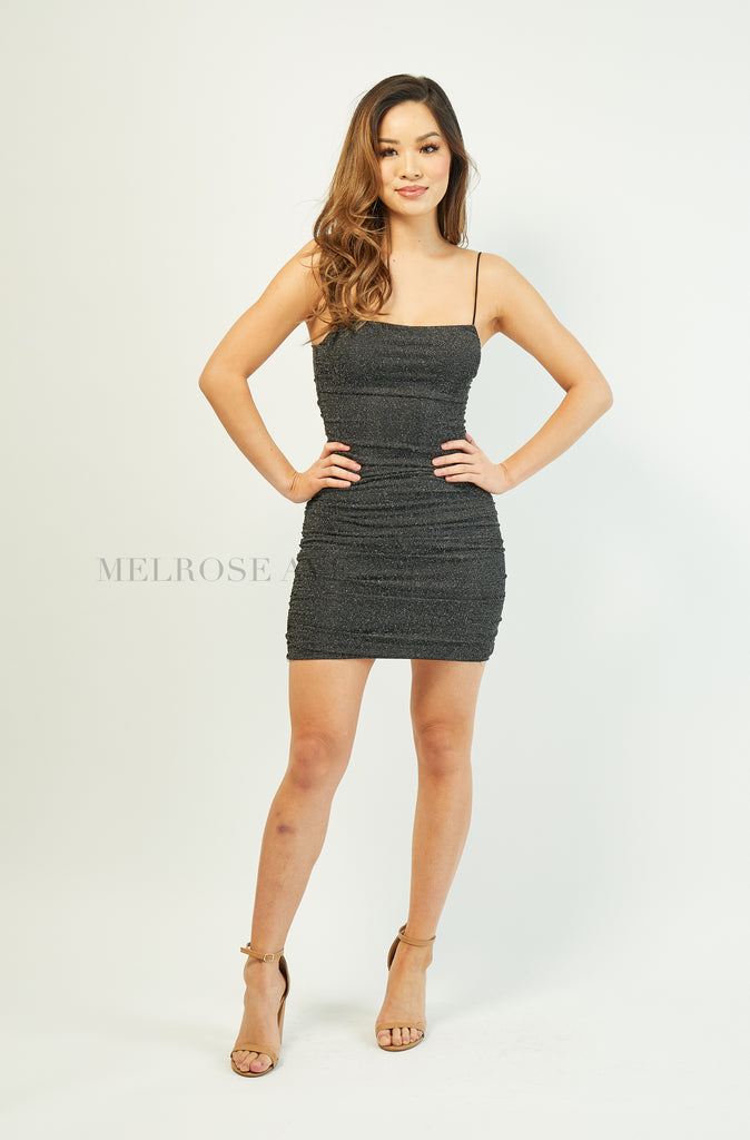 Dazzle Mini Dress | Black