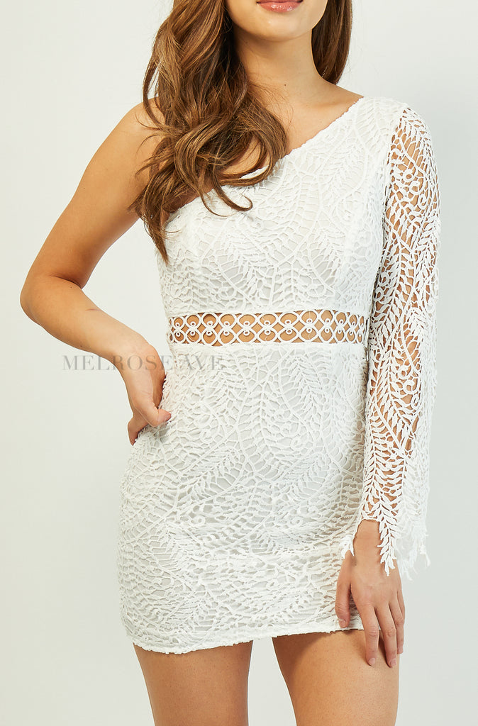 Lucy Lace Mini Dress