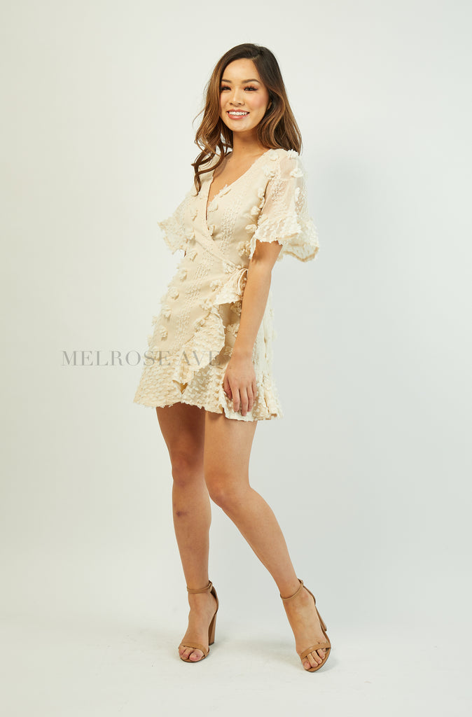 Kiesha Mini Wrap Dress